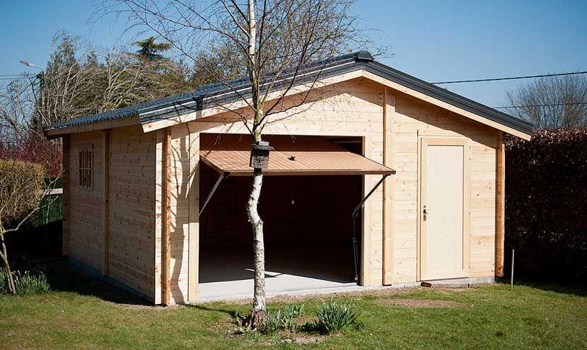 prix abri jardin bois Abris de jardin Pinterest - prix construction d un garage