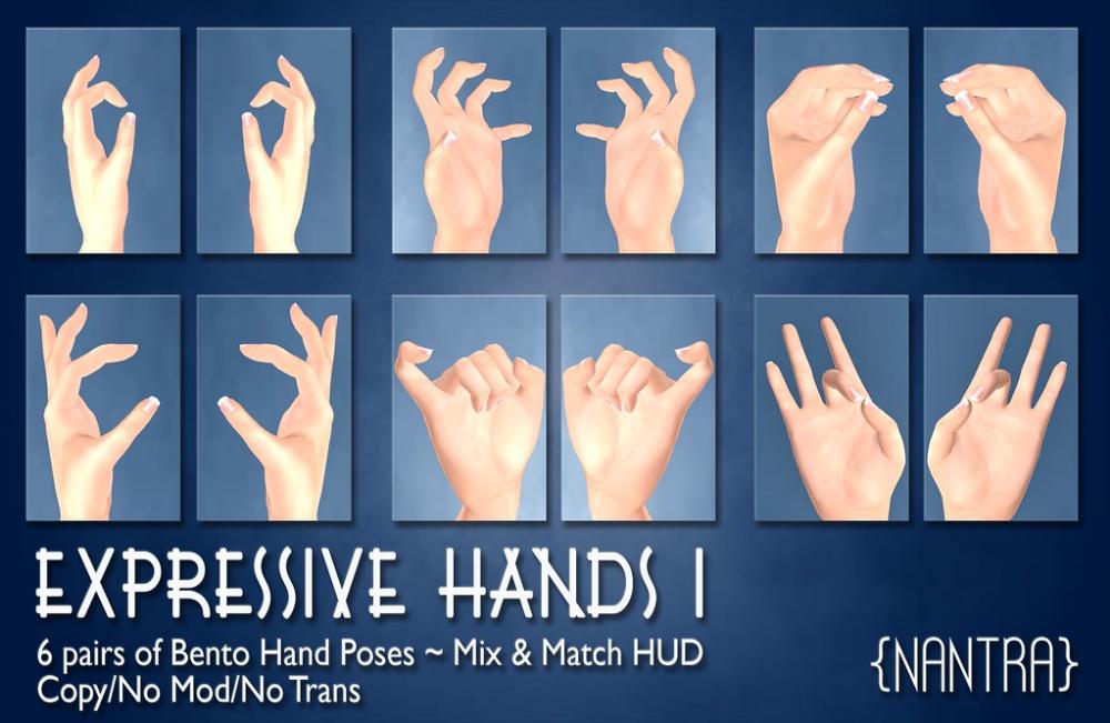 28++ Hands pose information