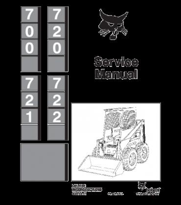 bobcat 864 wiring diagram bobcat 700  720  721  722 skid steer loader service repair manual  skid steer loader service repair manual