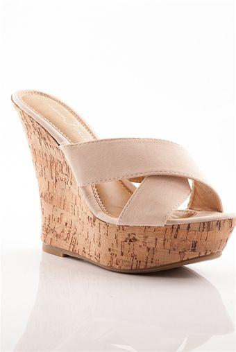 sandals, Beige wedge sandals, Wedges