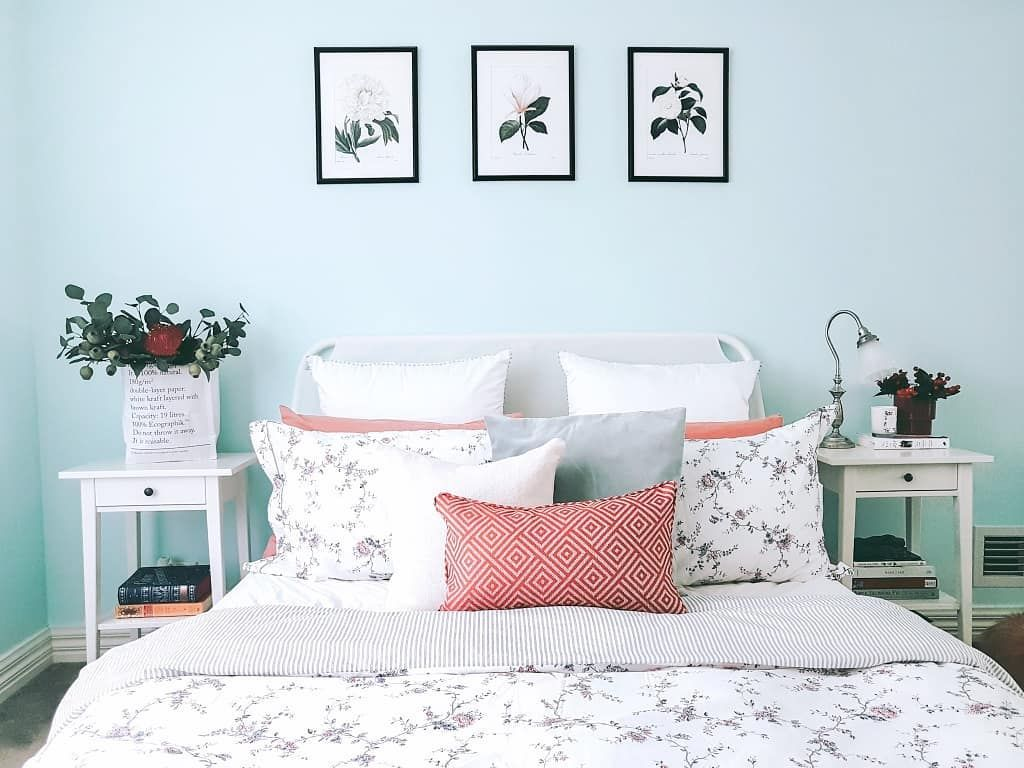 Pin On My Abode Pastel blue bedroom designs