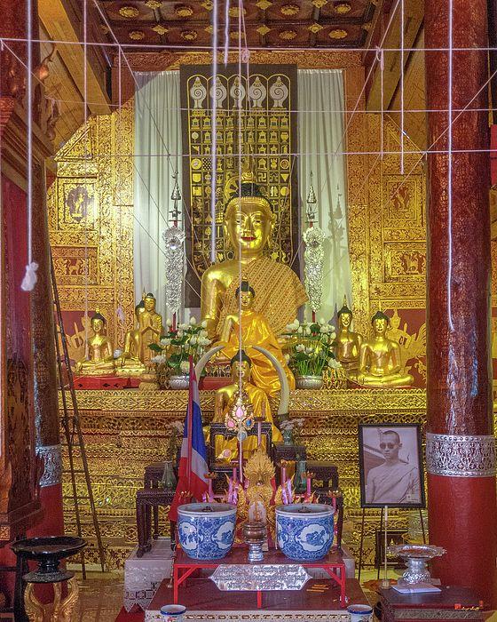 2013 Photograph, Wat Mahawan Phra Wihan Buddha Images, Chang Moi, Mueang Chiang Mai, Chiang Mai, Thailand, © 2017. ภาพถ่าย ๒๕๕๖ วัดมหาวัน พระพุทธรูป พระวิหาร ต.ช้างม่อย อ.เมืองเชียงใหม่ จ.เชียงใหม่ ประเทศไทย