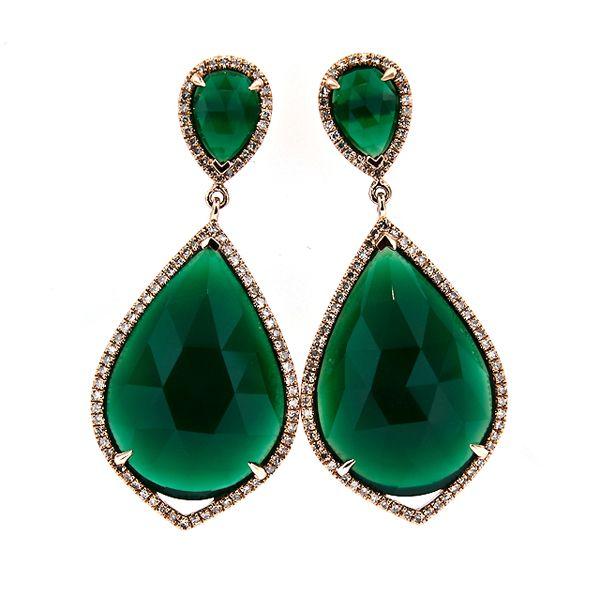 Green Agate Earring Stock 16 5bb717