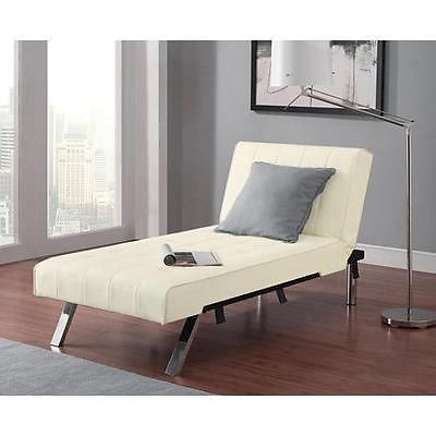 Modern Chaise Lounge Chair Furniture Seat Couch Sofa Loft Dorm
