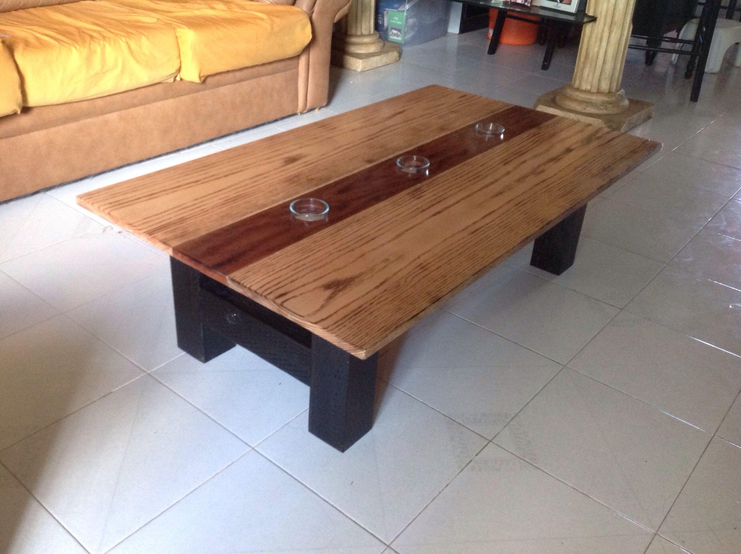 Oak/Mahogany Coffee Table | Mahogany coffee table, Coffee ...