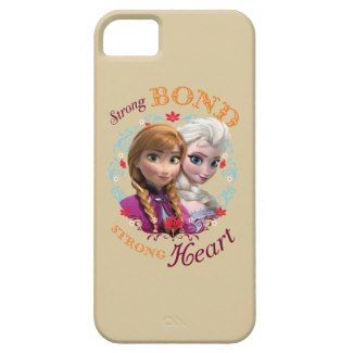 Strong Bond, Strong Heart iPhone 5/5S Covers by disney