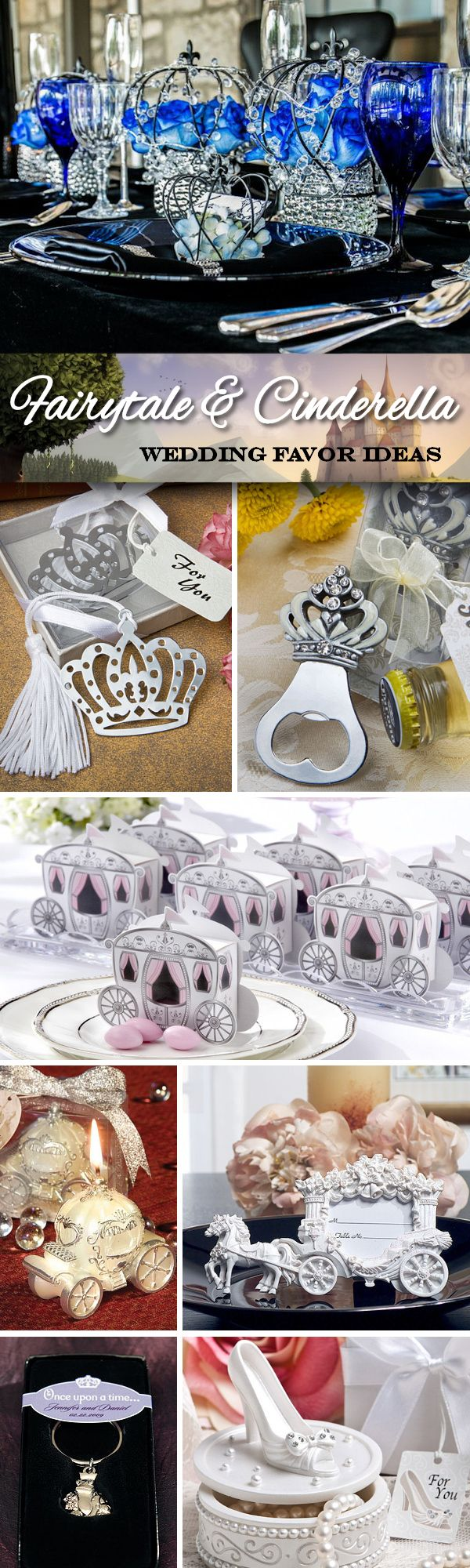 Having a Fairytale or Cinderella themed wedding? Check out these ...