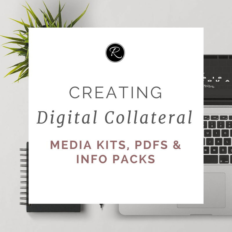 Creating Digital Collateral (Media Kits, Info Packs & PDFs
