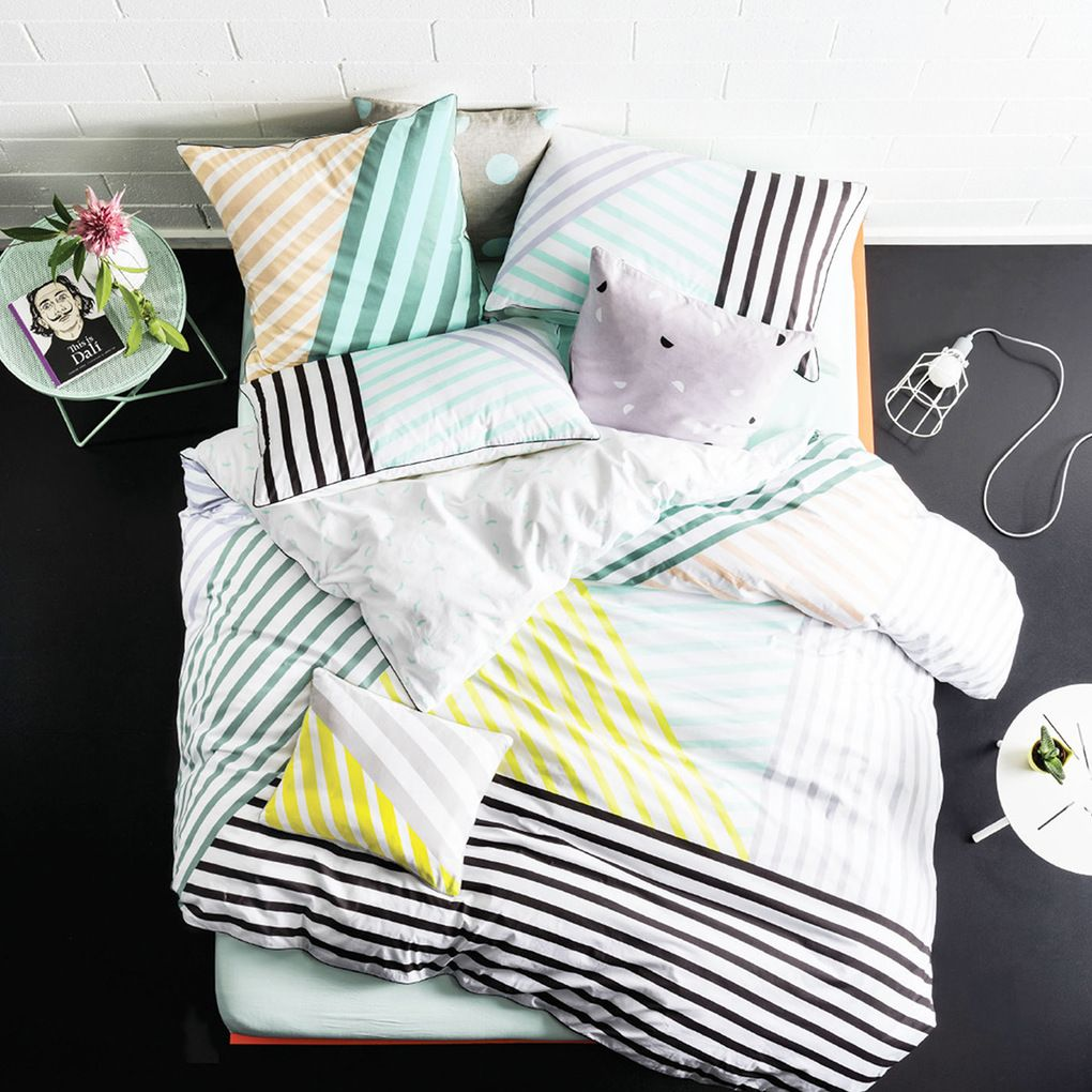 Runway Pastel Quilt Cover Set | Pillow Talk Great Pictures