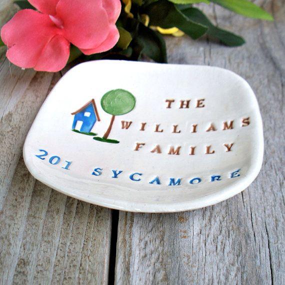 Cadeau de pendaison de cr maill re personnalis par sayyourpiece clay personalized projects - Cadeau de cremaillere ...