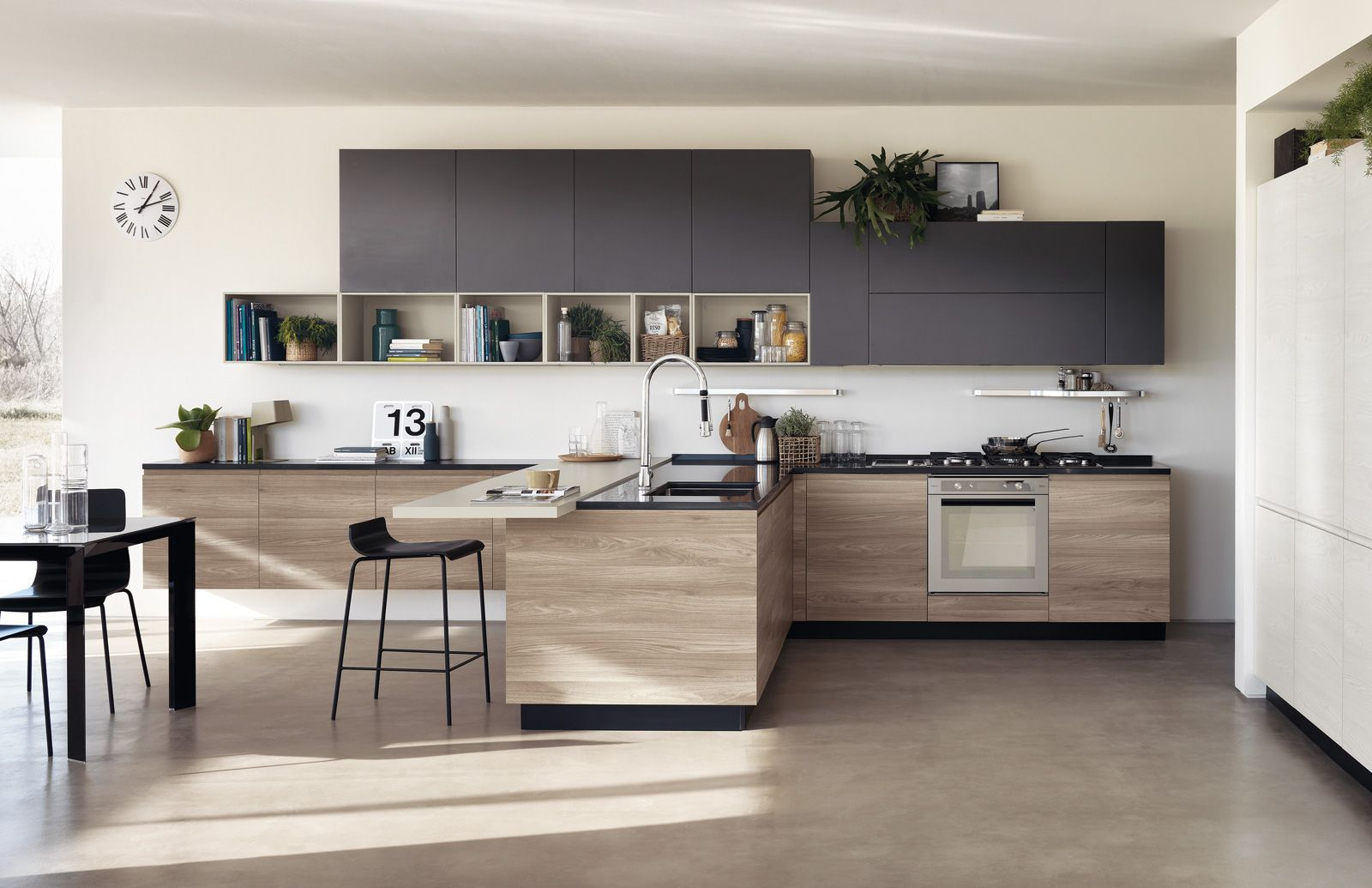Cucine bicolore: l\'alternanza cromatica fa tendenza | Kitchen ...