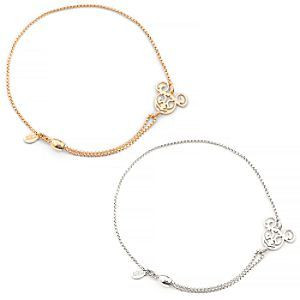 d1495f7a8 Disney Mickey Filigree Pull Chain Bracelet by Alex and Ani Mickey Mouse  Jewelry, Mickey Mouse