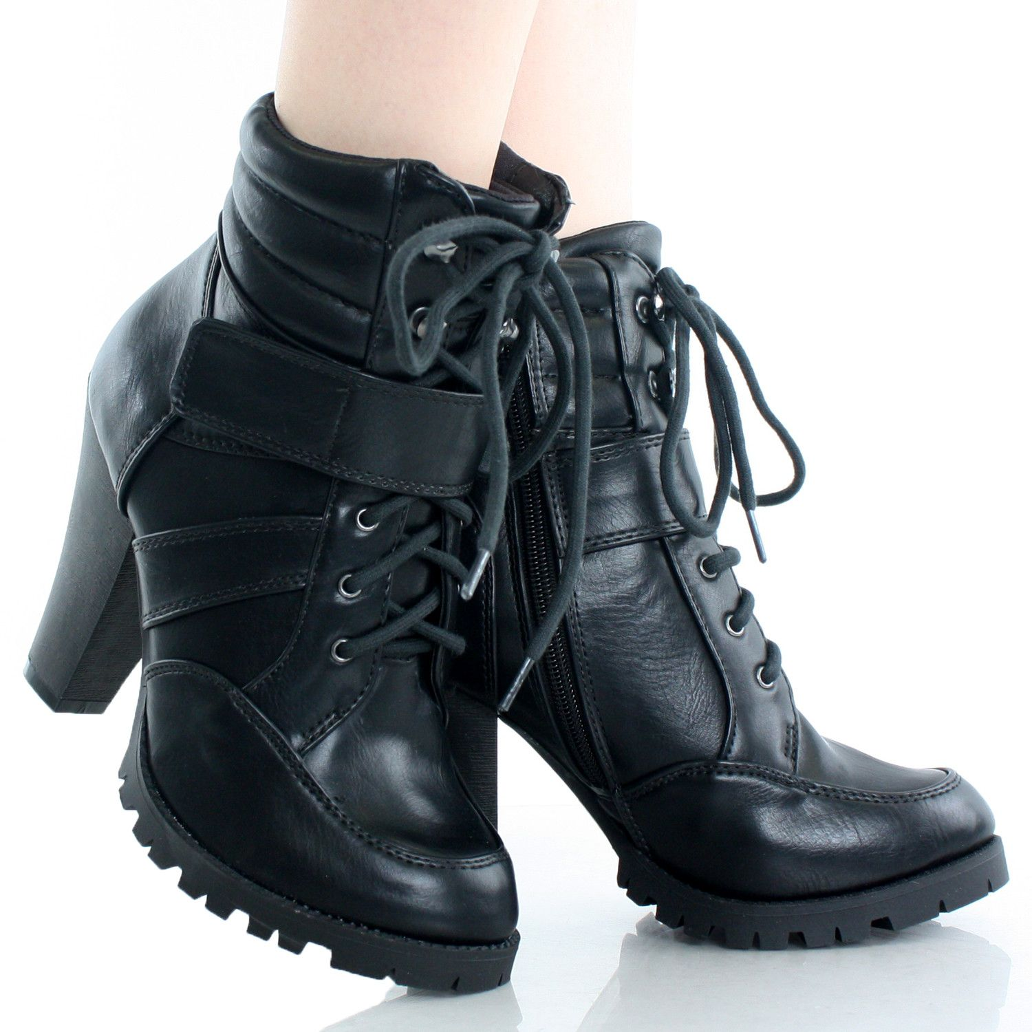 Lance-H Lace Up Ankle Boots – DWDShoes