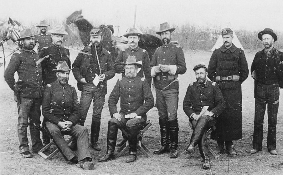 Army Old West Photo Print 7th Cavalry Of The U.S