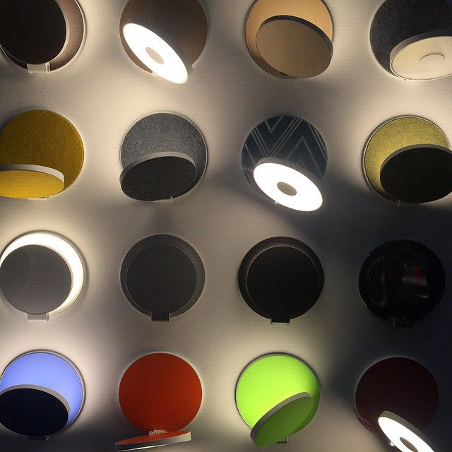 Gravy led wall sconce by edmund ng for koncept lighting at icff 2015 has a built in dimmer fabulous