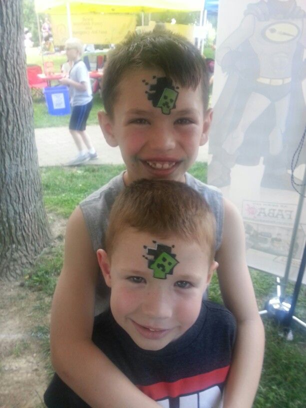 face painting games for boys