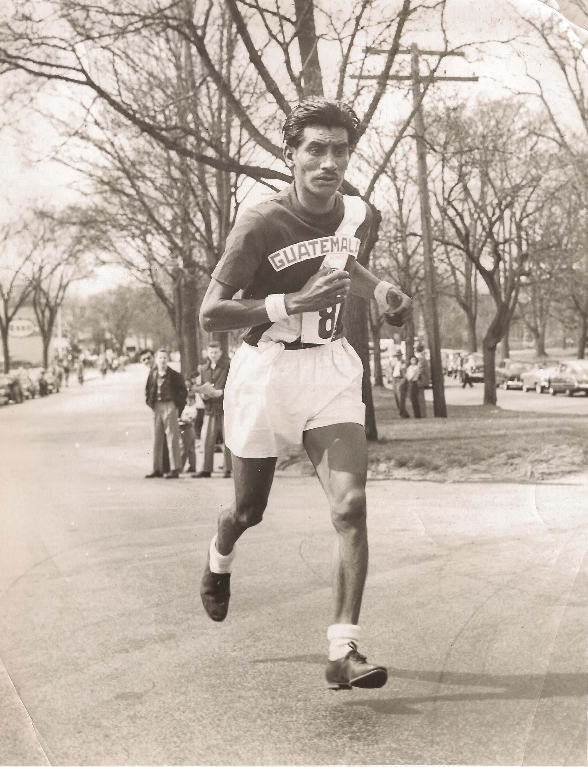 The first Latin American victor of the Boston Marathon
