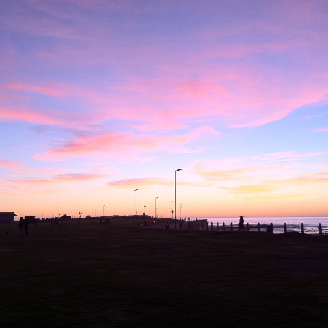 Winter sunsets in Cape Town are the best