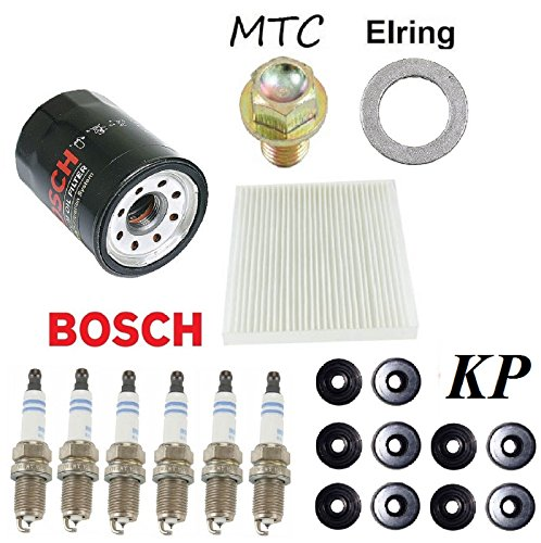 Tune Up Kit Cabin Air Oil Filters Plugs Gasket For Honda Accord V6 3 0l 2003 2007 Best Price Oempartscar Com Honda Accord V6 Oil Filter Honda Accord