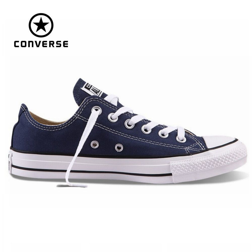 Original new Converse all star canvas shoes men's women unisex sneakers  classic Skateboarding Shoes white color