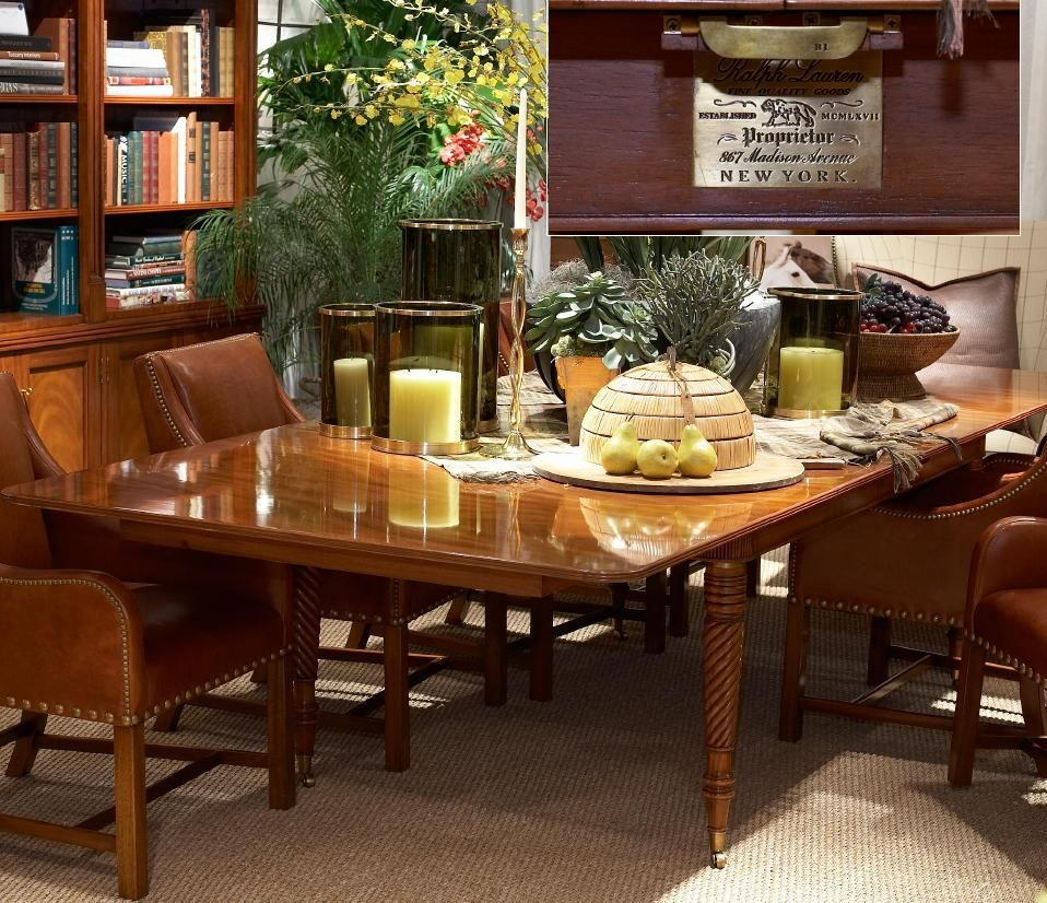 Ralph Lauren Cape Lodge Dining Table and Chairs...50% OFF (Dining ...