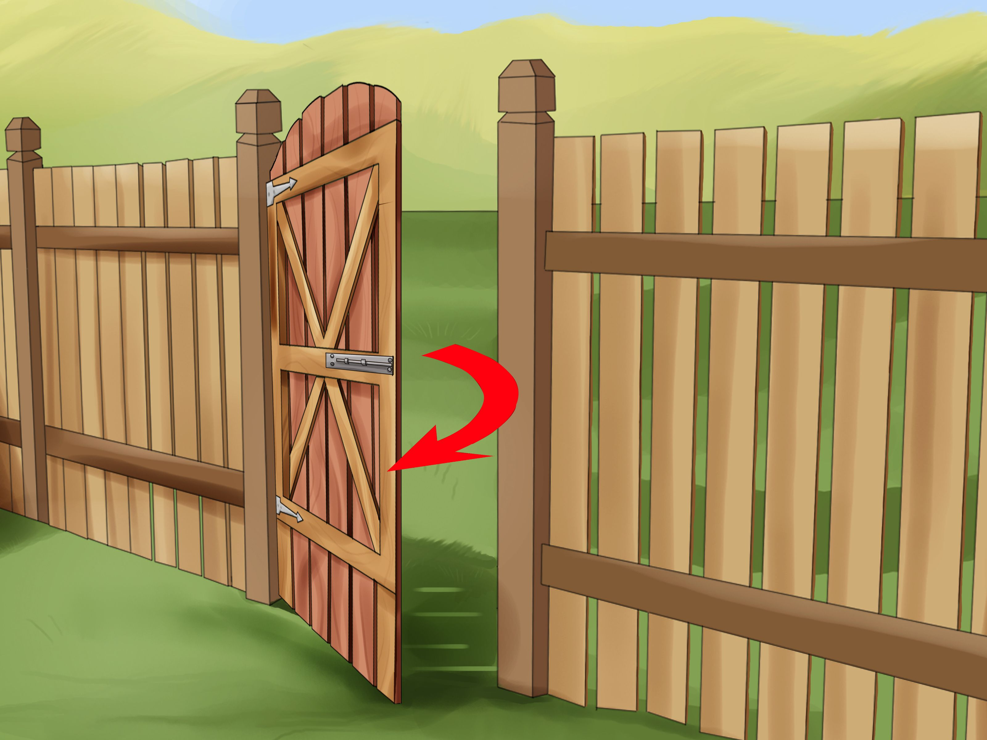 How To Build A Wooden Gate Building A Wooden Gate Wooden Fence Gate Wood Fence Gates