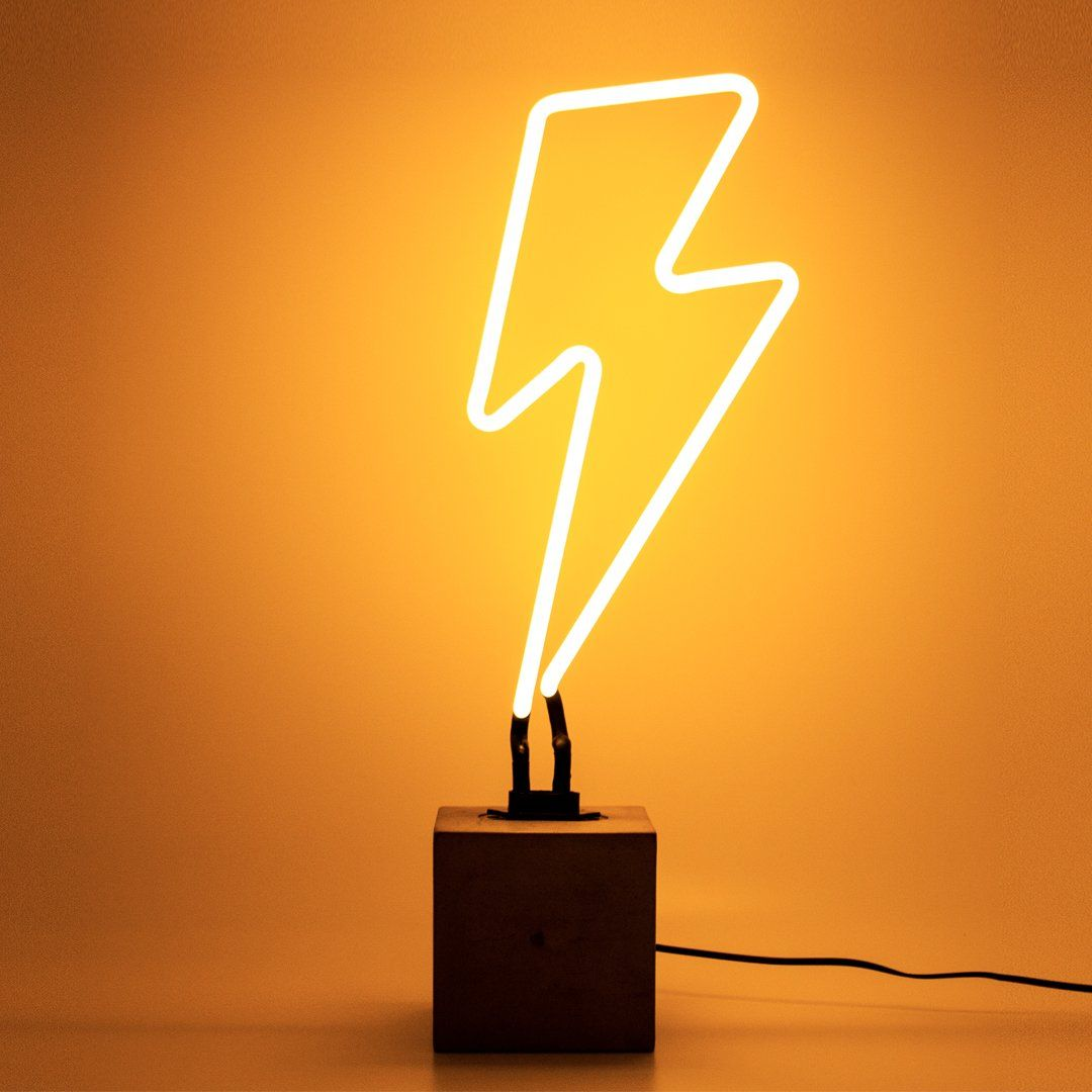 Neon Lightning Sign from Neon lighting