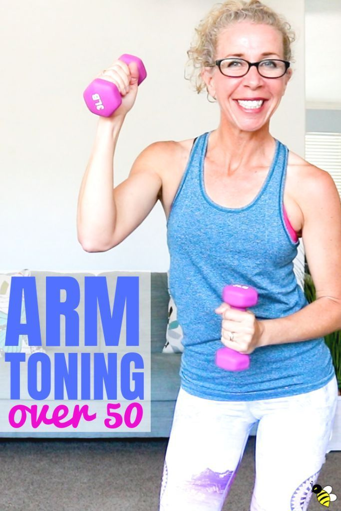 30 Minute Cardio ARM TONING Workout for Women Over 50 • Pahla B Fitness
