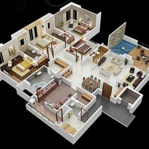 Best House Plan For 20x40 Site Awesome 20 X 40 House Plans Awesome Home 20 50 Duplex Hou 4 Bedroom House Designs 4 Bedroom House Plans Four Bedroom House Plans