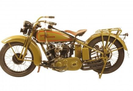 """George Pardos Collection """"Evolution of the Harley-Davidson Motorcycle"""": 1928 Harley Davidson JDH Two Cam"""