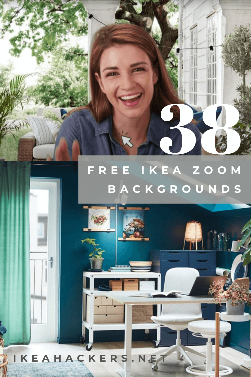 Ikea Free Backgrounds For More Stylish Zoom Calls Give Your Home Office A Virtual Makeover With These Free Zoom Zoom Call Virtual Makeover Office Background