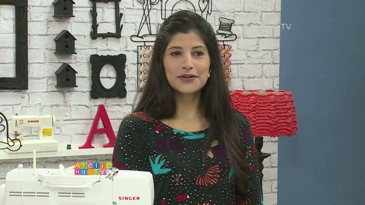 Ateliê na TV - Rede Vida - 24.07.2017 - Camila Martins - YouTube