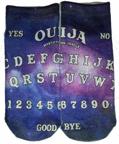 Robot Check Ouija Ouija Board Ankle Socks