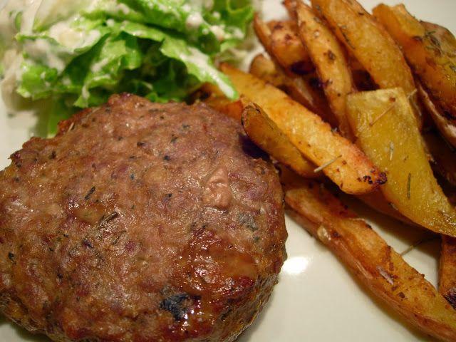 As Receitas da Patanisca: Hamburgers no forno