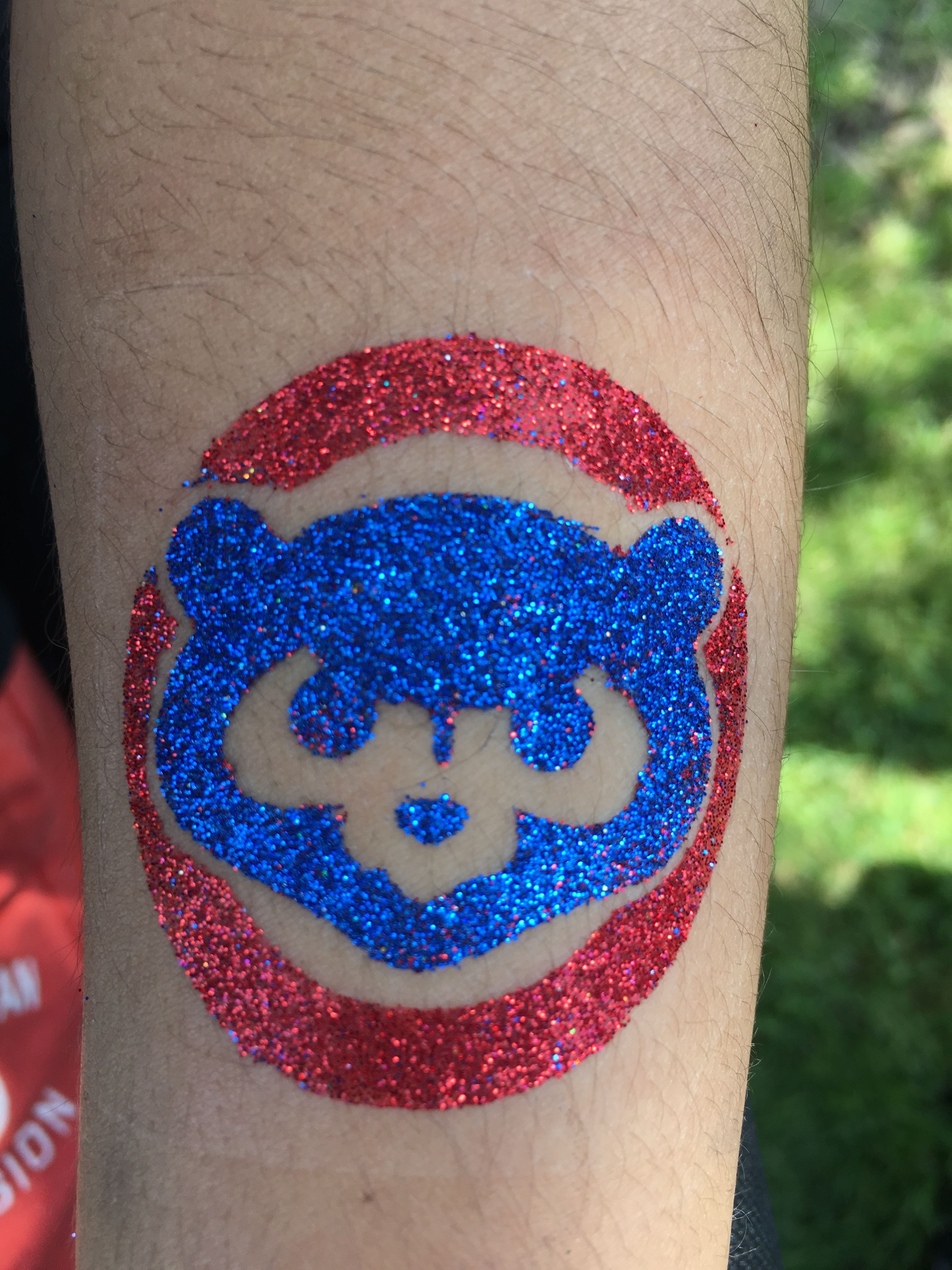 Cubs temporary glitter tattoo by #LaineToo   Check Out LaineToo\'s ...