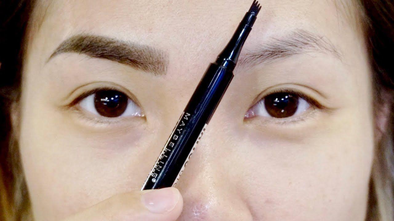 Maybelline microblading eyebrow tattoo pen youtube