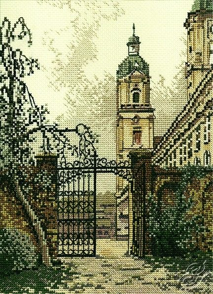 Cross Stitch Kit The gate in the town R169