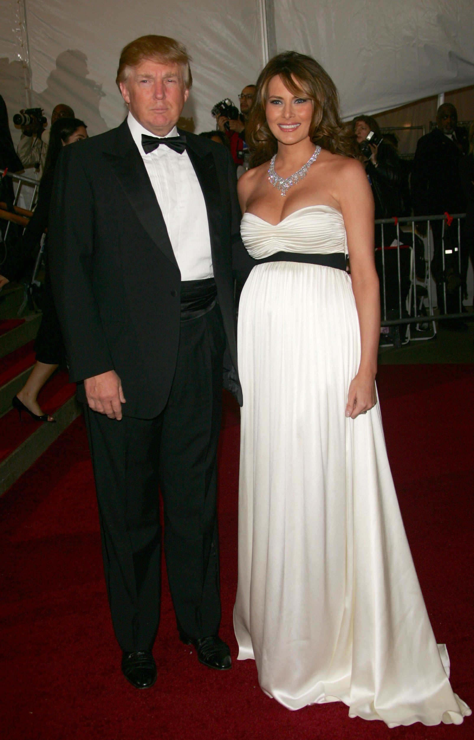 5e7aea89 Before Melania Trump became first lady, she was just another model walking  the red carpet at events.