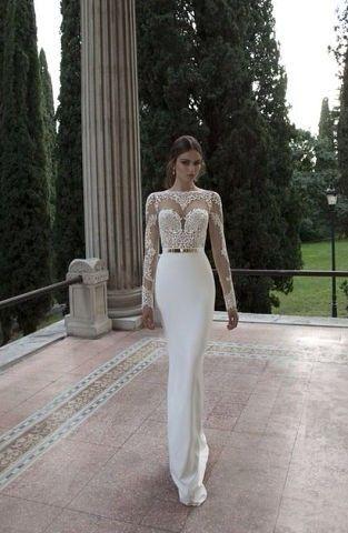 Robe de mariée dentelle moulante | Robe de