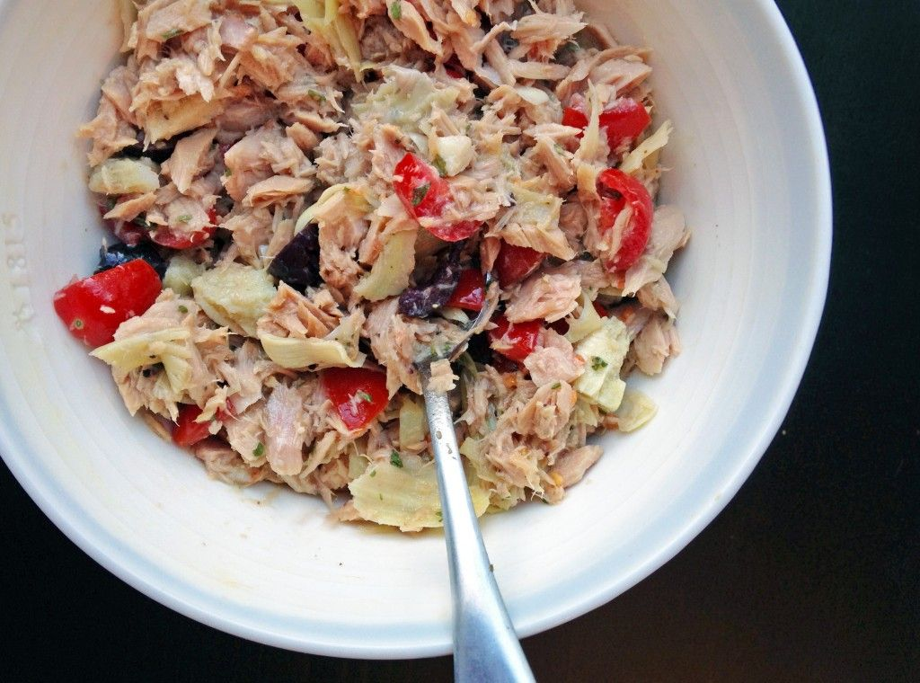 Greek Tuna Salad | Making Life Sweet