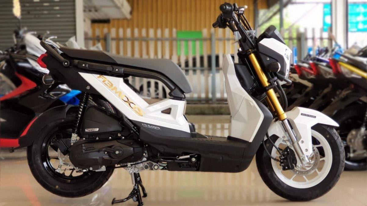 8 Picture Honda Zoomer X 2020 Philippines In 2020 Honda Black Honda Philippines