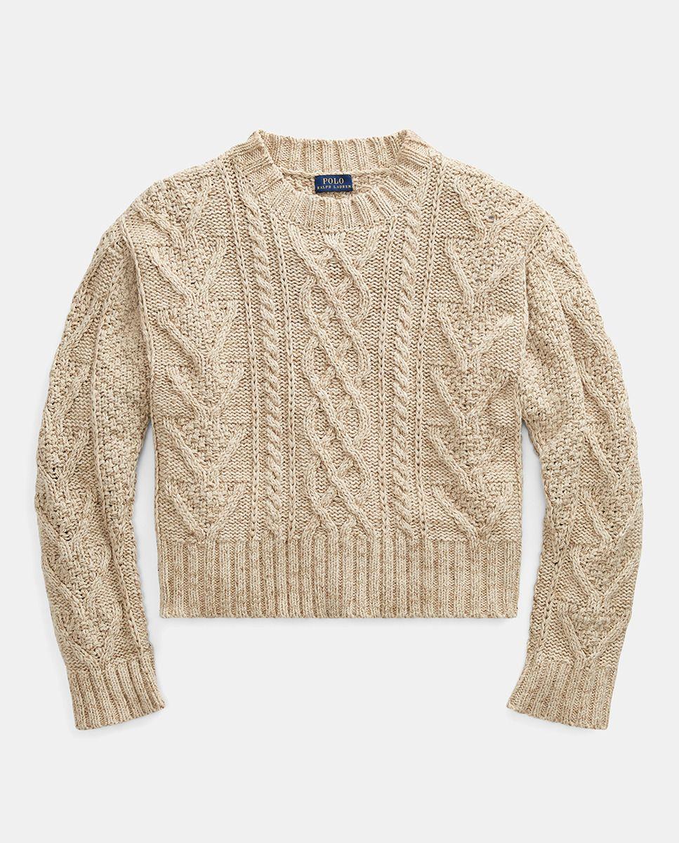 ae54939c85 Polo Ralph Lauren women's short cable knit sweater · Polo Ralph Lauren ·  Fashion · El Corte Inglés