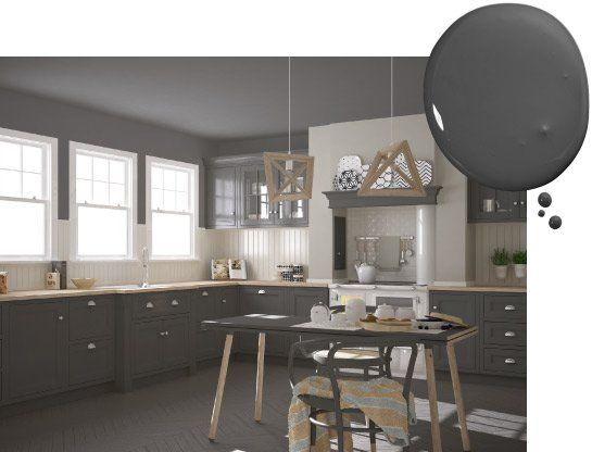 45+ Kitchen paint ideas with grey cabinets information
