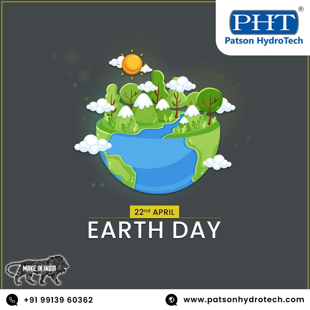 Photo of #EARTH_DAY #PATSON_HYDROTECH #PHT