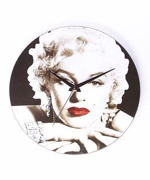 Loving this Marilyn Monroe Wall Clock on #zulily! #zulilyfinds