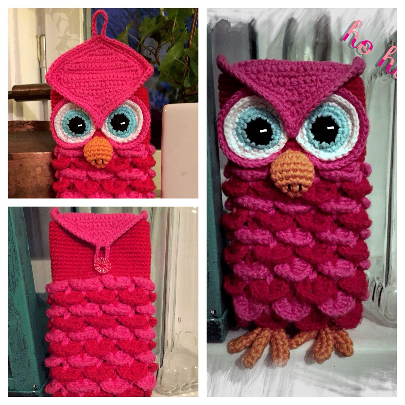 Crochet owl phone-case by http://savirkat.blogspot.se | Crochet ...
