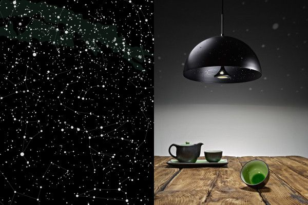 Elegant  ueStarry Light u u Die Lampe die einen Sternenhimmel erzeugt