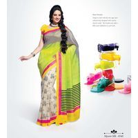 Glorious Multicolor printed Saree