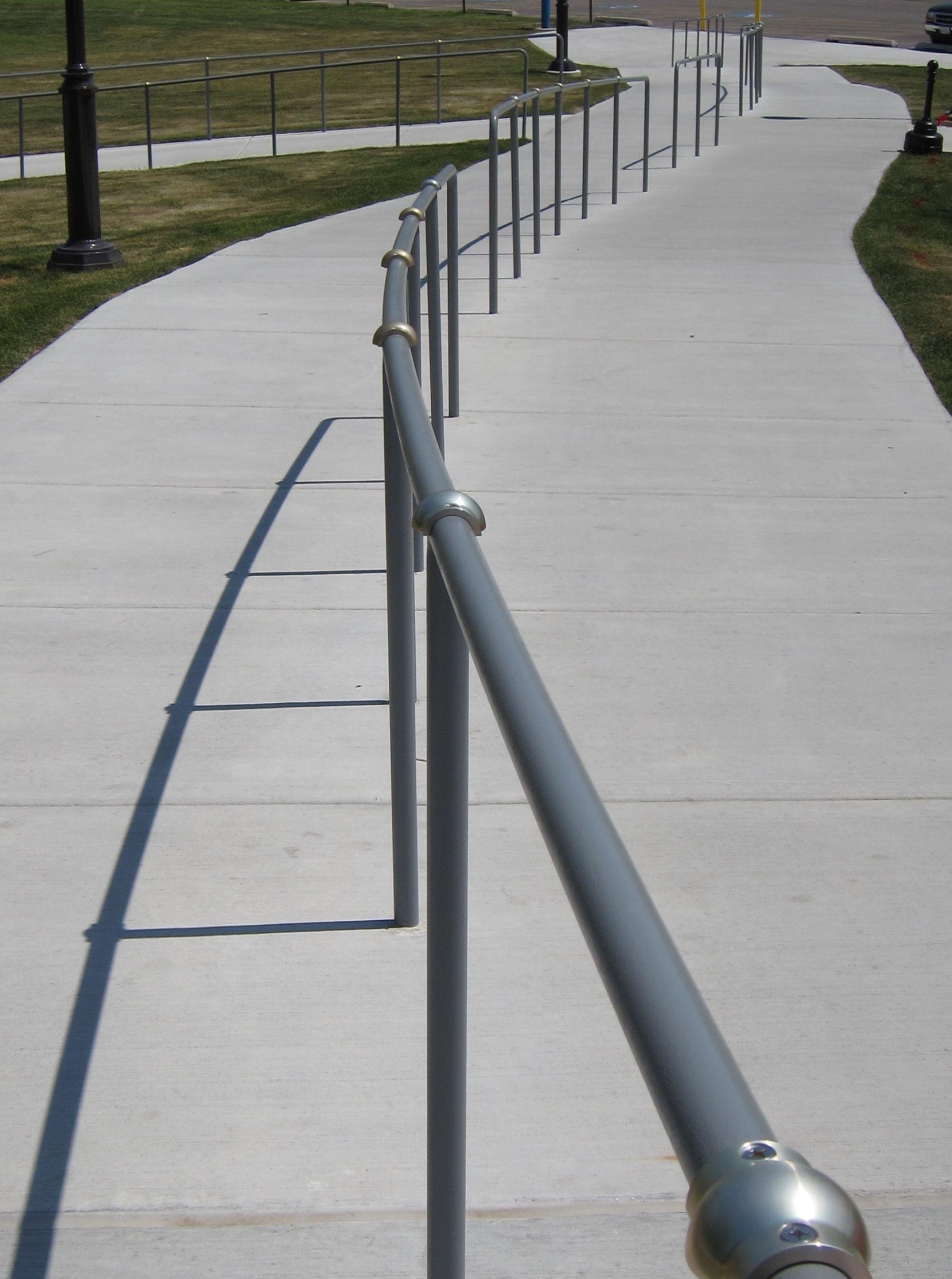Best Handrail Minders Skateboard Deterrents Built For Round 400 x 300