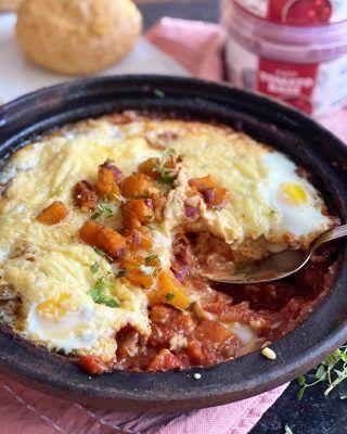 Plaattaart met brie, courgette en appel - Foodblog Foodinista